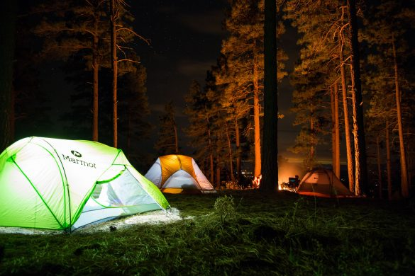 How to Sleep Well While Camping